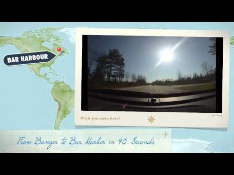 GoPro Hero3 - From Bangor to Bar Harbor in 90 Seconds