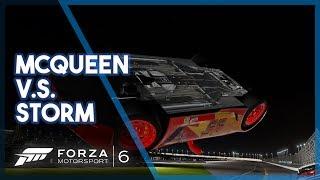Forza Motorsport 6 | Lightning McQueen v Jackson Storm! (Cars 3 Recreation)