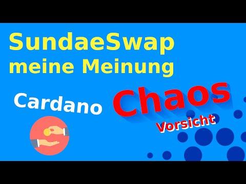 SundaeSwap | Meine Meinung | Cardano dezentrale Exchange | DEX | deutsch