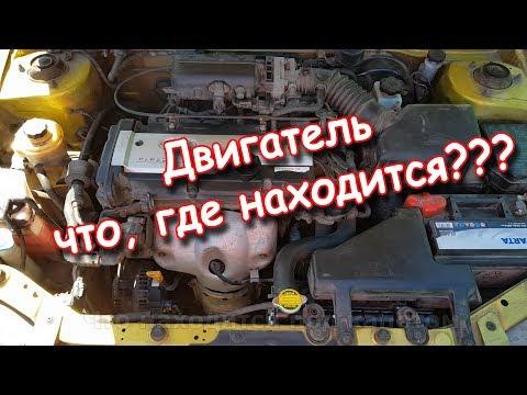 Что находится под капотом автомобиля (основные элементы)