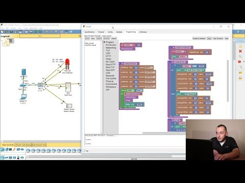 Blockly Programming – IoT – Cisco Packet Tracer | Part1