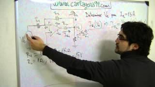 Ejercicio 5 Amplificadores Operacionales. Electrónica. Clase amplific. operacional ideal