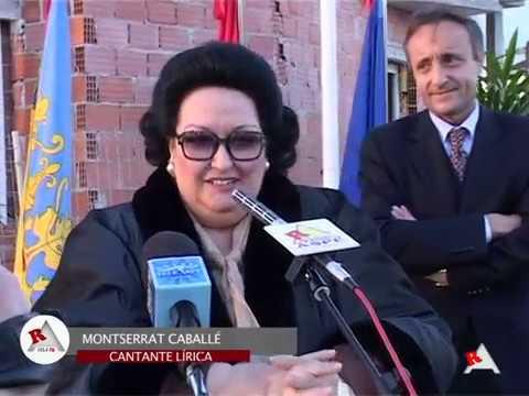 Vídeo Homenaje a Montserrat Caballé (Hija Adoptiva de Aspe)