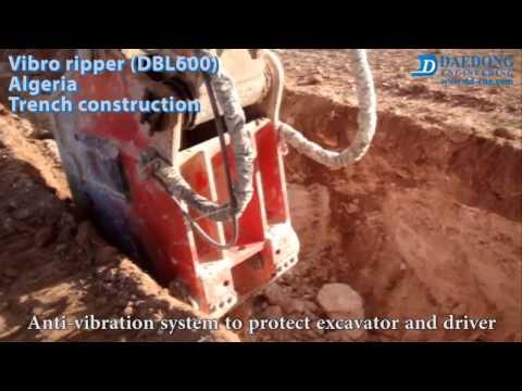 Vibro ripper DBL600 Algeria Trench
