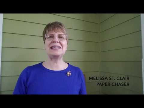 Melissa St. Clair | Paper Chaser