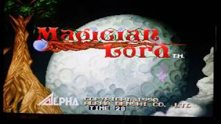 Magician Lord snk neo geo  arcade game