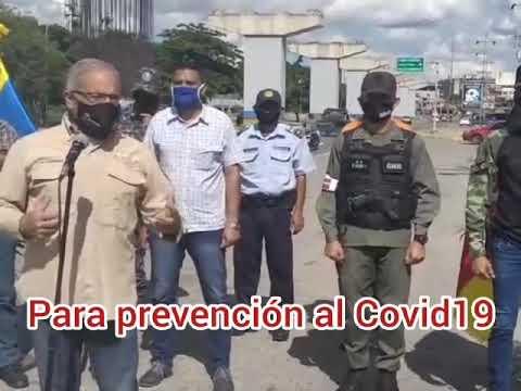 Despliegue en Guarenas el operativo de seguridad y prevención el fin de semana de radicalización