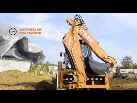 Europe - CASE T-Series Backhoe Loaders - Technical Video