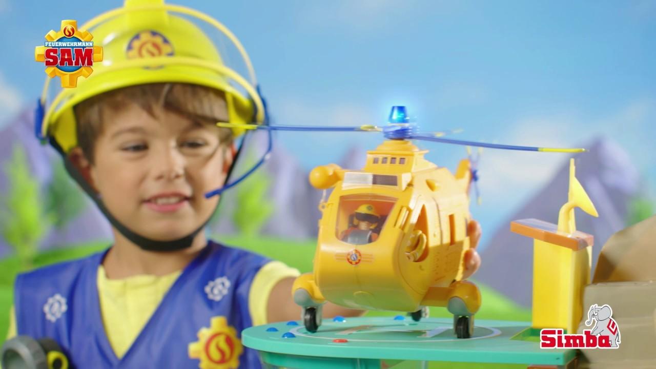 Feuerwehrmann Sam Hubschrauber Wallaby II - YouTube