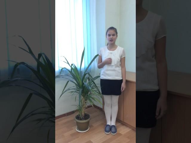 Изображение предпросмотра прочтения – МарияКлимова читает произведение «Ворона и Лисица» И.А.Крылова