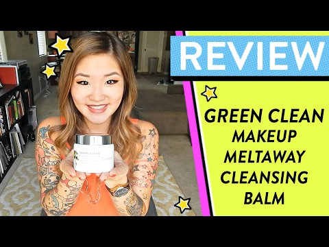 REVIEW: Green Clean Makeup Meltaway Cleansing Balm | HelloHannahCho