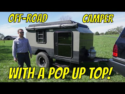 offroad overland camping trailer build e43 youtube