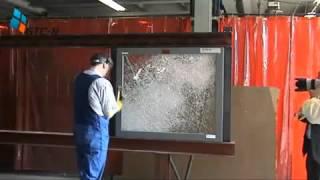 Суперстекло! Бронированное стекло