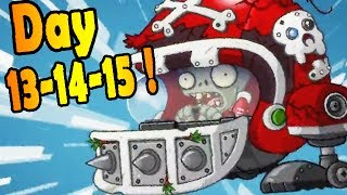 Plants vs. Zombies 2: Far Future Days 13-14-15!