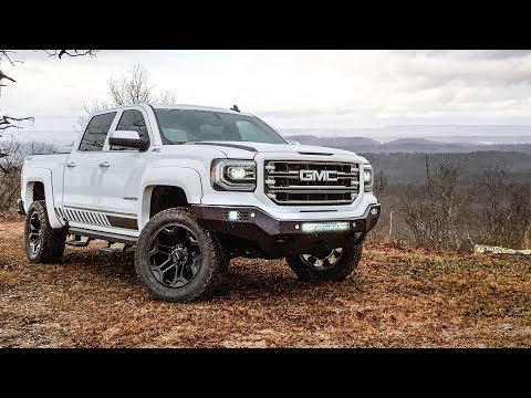 Sca Performance Lifted Trucks Gmc Sierra Black Widow