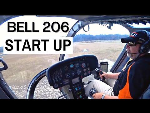 B206 Jetranger Start Up - Hunter Valley Helicopter