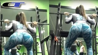 ENORMOUS GLUTE FITNESS MOTIVATION (Marija Maya)