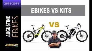 Electric bike Tips. Brand E-Bikes vs. Conversion Kits.
