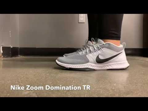 tabaco manipular gastos generales  Nike Zoom Domination TR - YouTube