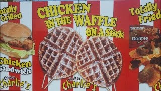 Chicken In The Waffle On A Stick Review - OC Fair 2016