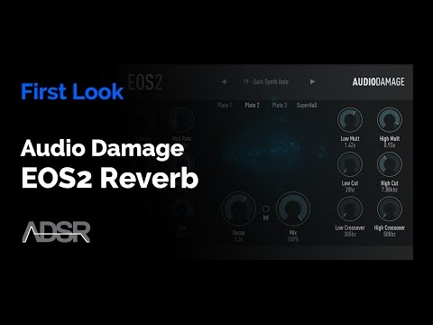 Audio Damage EOS2 Reverb - First Look