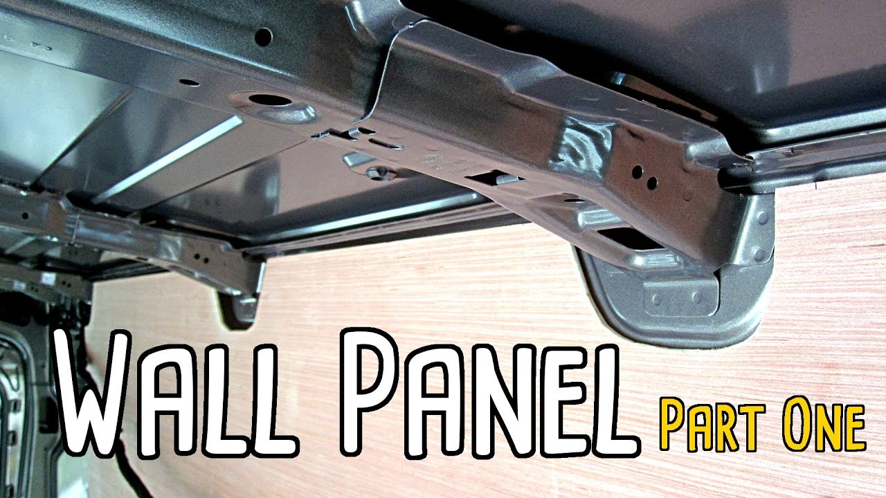 Cargo Van Conversion Wall Panel - Part One
