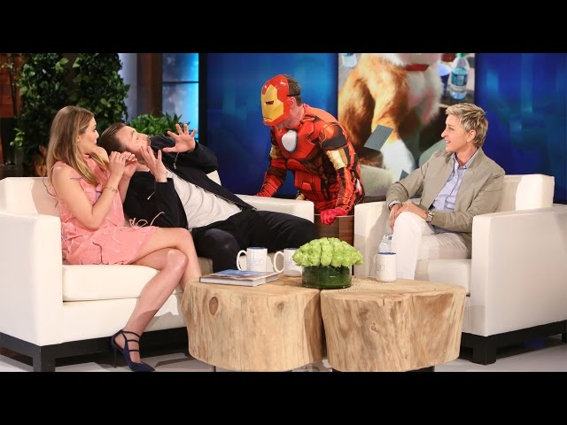 Chris Evans and Elizabeth Olsen's Scary Good Time