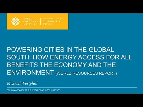 Powering Cities in the Global South - Michael Westphal