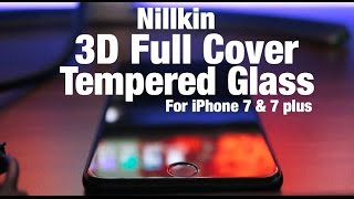 3D Tempered Glass untuk iPhone 7 & 7 plus - indratechlife