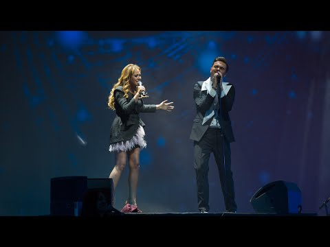 Александр Панайотов и Юлия Началова - Формула любви (LIVE)