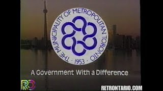 Metro Toronto: A Government with a Difference (1990)