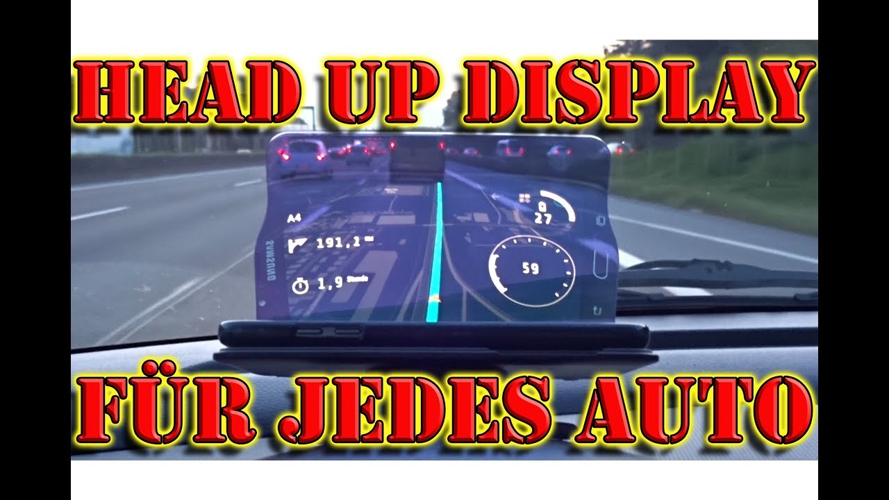 head up display nachr sten handy hud display hudway. Black Bedroom Furniture Sets. Home Design Ideas
