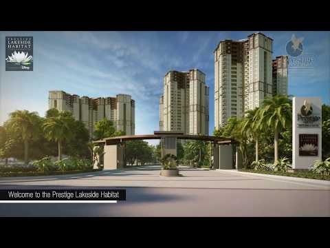 Prestige Lakeside Habitat - Apartments and Villas in Varthur, Off Whitefield, East Bangalore