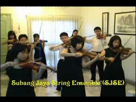 Por Una Cabeza  performed by kids (Malaysian violinists) Videos De Viajes