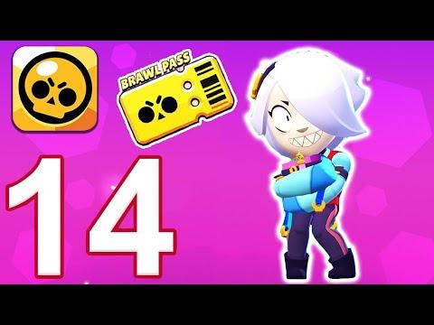 Brawl Stars - Gameplay Walkthrough Part 14 - Colette BRAWL PASS Opening  (iOS, Android)