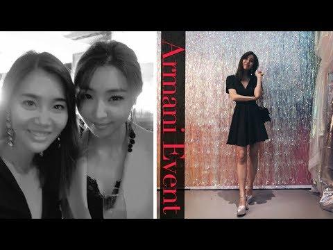 I Met Minzy at the Giorgio Armani Event in Seoul!!! #2NE1 😭💕
