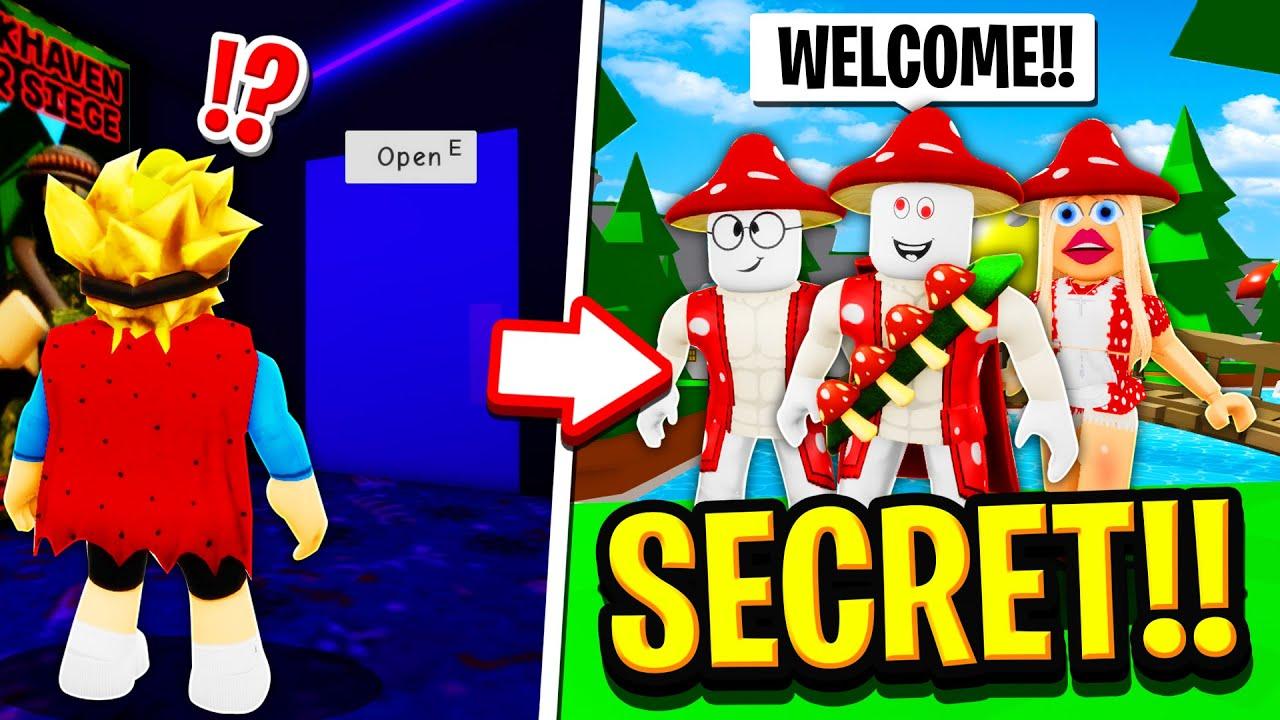We Found a SECRET UNDERGROUND WORLD in Roblox BROOKHAVEN RP!!