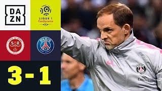 Ex-Bundesligaprofi ärgert Thomas Tuchel und Co.: Reims - Paris Saint-Germain 3:1 | Ligue 1 | DAZN