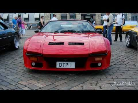 De Tomaso Pantera GT5!!! Revs, sweet V8 sounds!