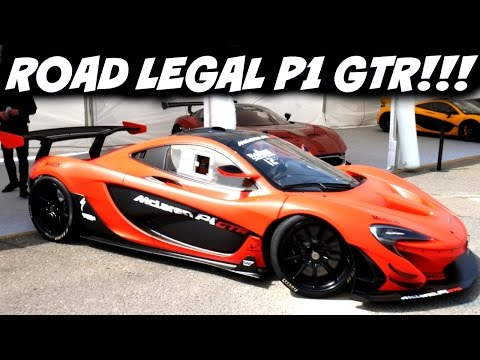 FIRST ROAD LEGAL MCLAREN P1 GTR!!