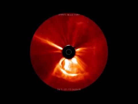 What A Carrington Event Looks Like - Visual Record of Potentially Catastrophic Solar Storm