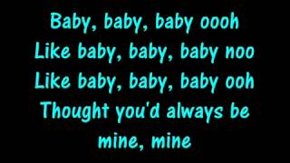 Repeat youtube video Baby Justin Bieber Lyrics