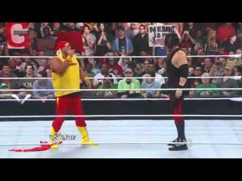 Kane Chokeslams Will Sasso RAW 04/09/2012