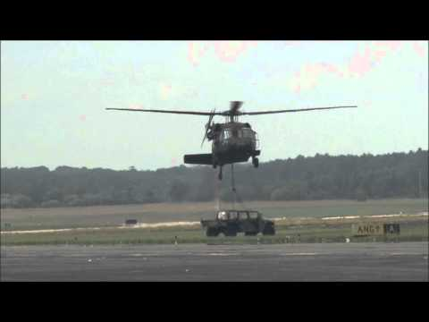2011 Rhode Island ANG Open House & Airshow - Combined Arms Demonstration