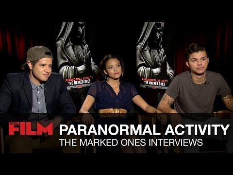 The Marked Ones cast on scariest Paranormal Activity s, sequels, Spanish horror