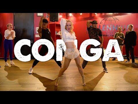 "Gloria Estefan - ""CONGA"" I Choreography by @NikaKljun"