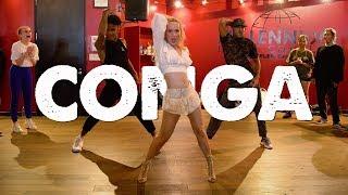 "Gambar cover Gloria Estefan - ""CONGA"" I Choreography by @NikaKljun"