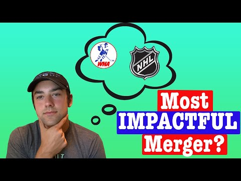 Hey guys I new to this sub thought y'all would enjoy this video I made on the NHL-WHA merger