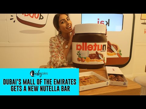 Nutella Bar At The Mall of the Emirates In Dubai Is All Things Drool-Worthy! | Curly Tales