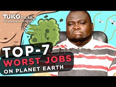 Bad Job? Top 7 Worst Jobs in the World | Tuko TV